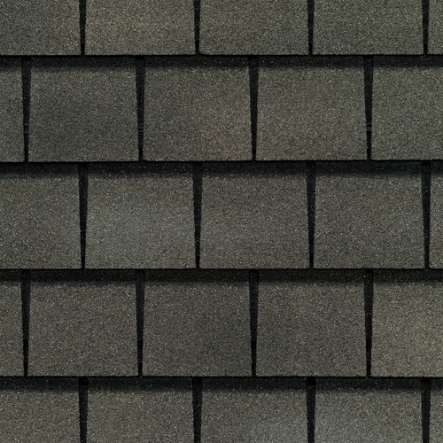GAF Slateline 33.33-sq ft Weathered Slate Architectural Roof Shingles