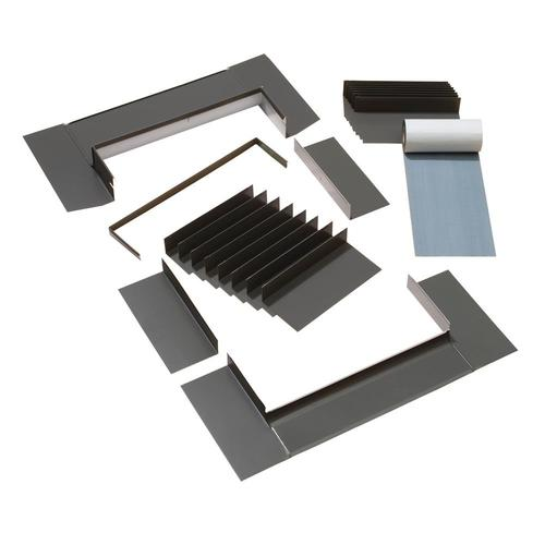 VELUX M02, M04, M06, M08 Shingle Roof Aluminum Deck Mount Skylight Flashing Kit