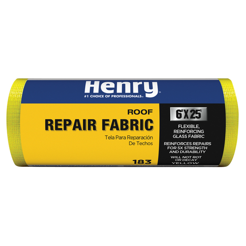 Henry Company 0.5-ft W x 25-ft L 12.5-sq ft Yellow Roll Roofing
