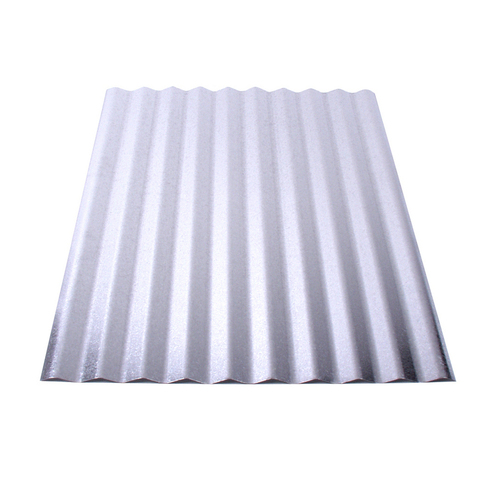 Union Corrugating 2.16-ft x 8-ft Corrugated Steel Roof Panel