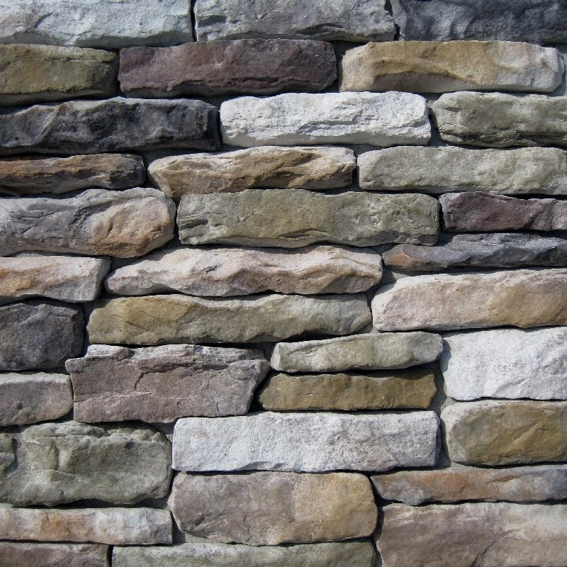Black Bear Manufactured Stone - Ledge Stone Aspen/Aspen / 7.5 Lineal Ft Corner
