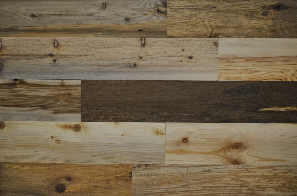 Timberchic River Plank Peel and Stick Reclaimed Wooden Panels/River Planks / 5'
