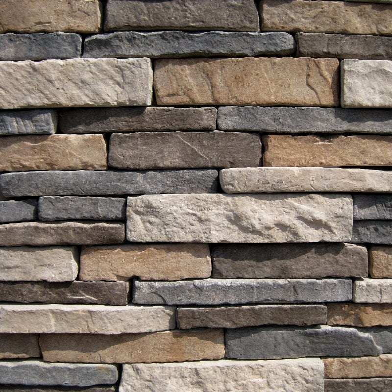 Black Bear Manufactured Stone - Stacked Stone Ozark/Ozark / 7.5 Lineal Ft Corner