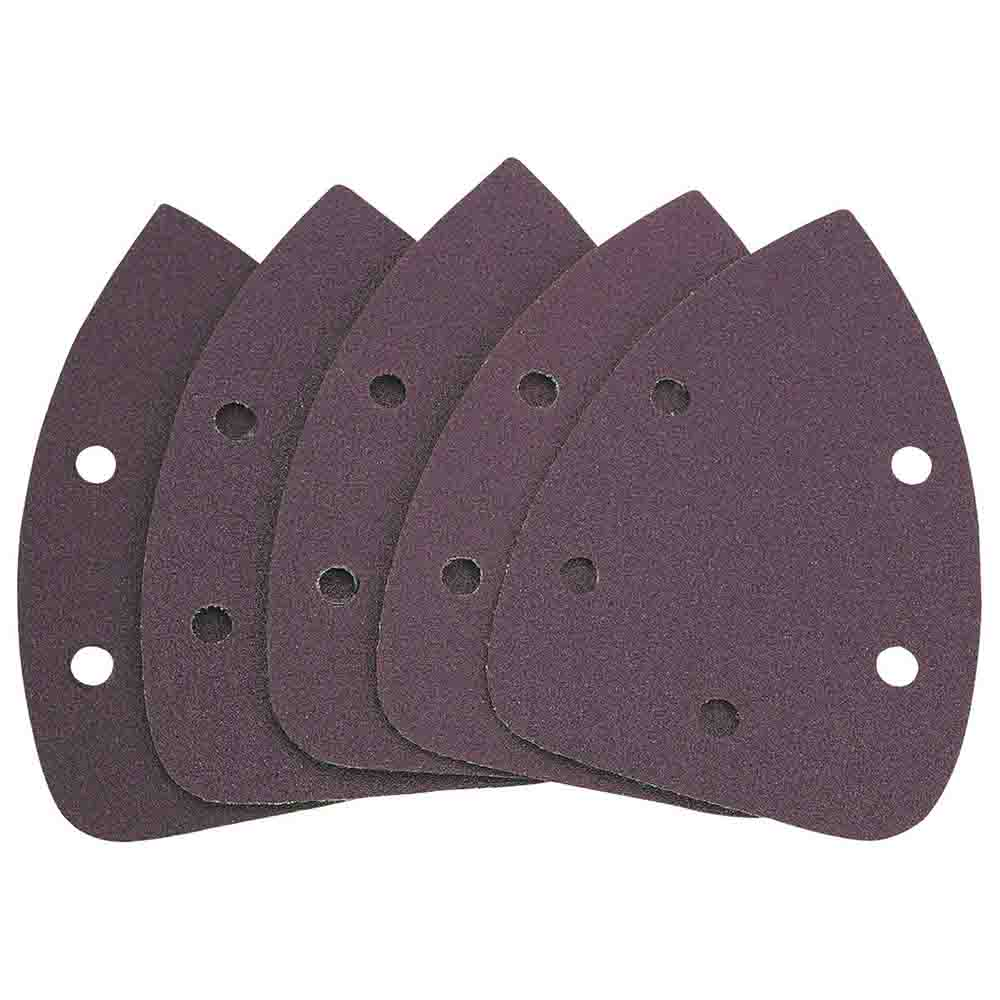 Detail Sander Replacement Pads Assorted Set 5 Pc
