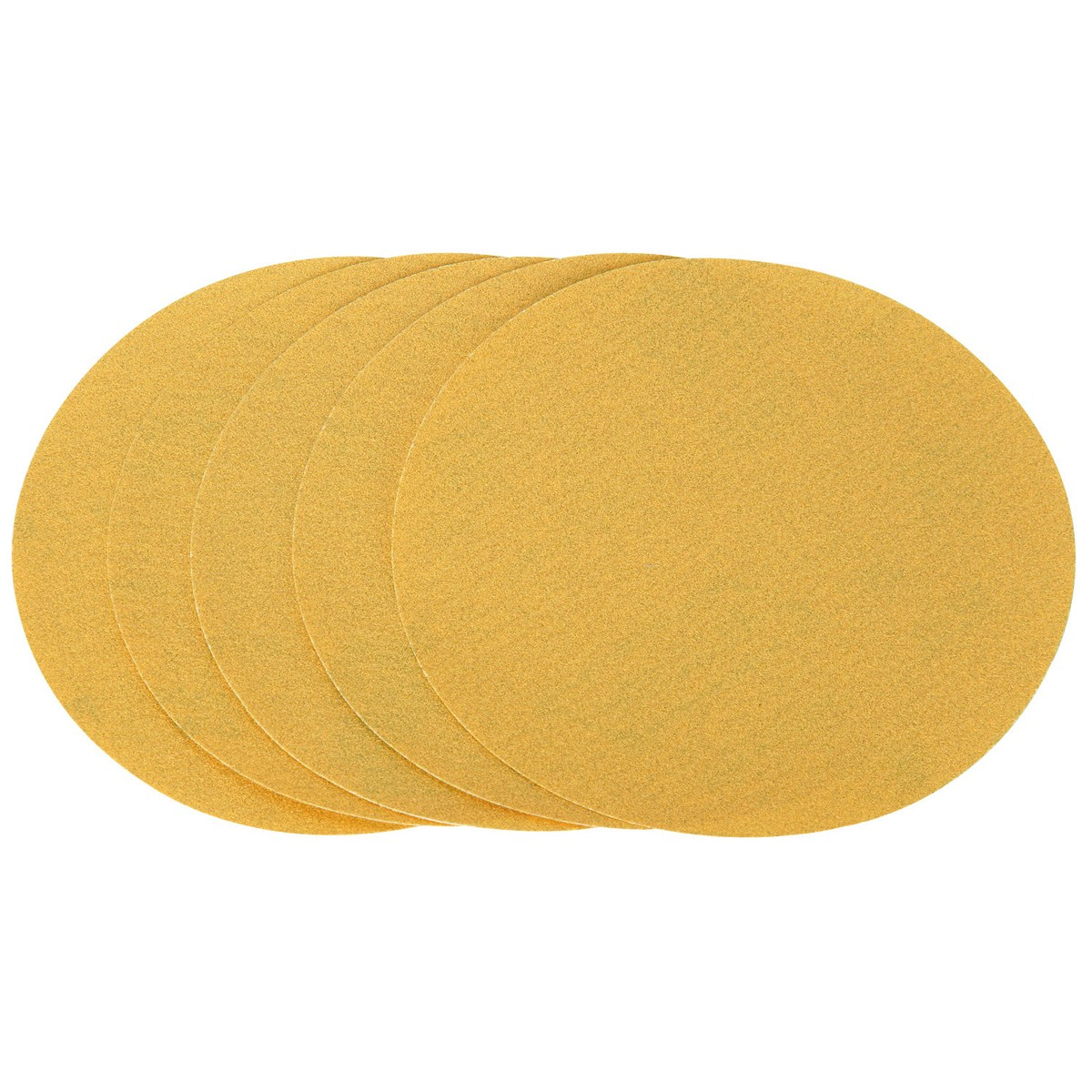 6 in. 120 Grit PSA Sanding Discs 5 Pc