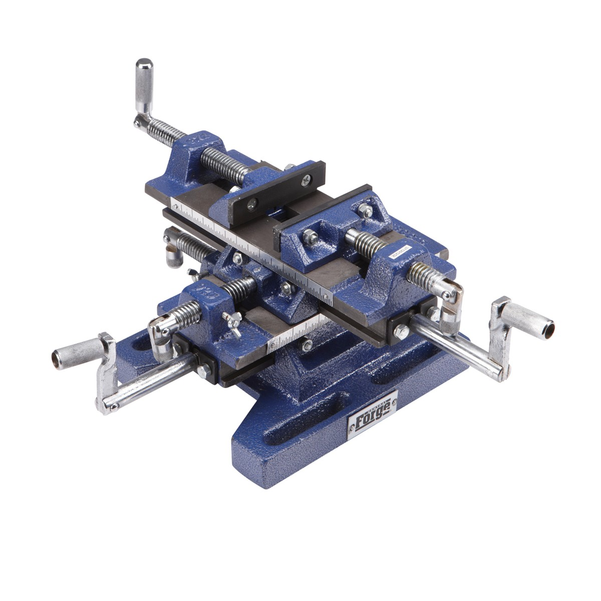 5 in. Rugged Cast Iron Drill Press Milling Vise