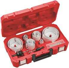 Milwaukee Master Electricians Ice Hardened Hole Saw Kit 19 Piece