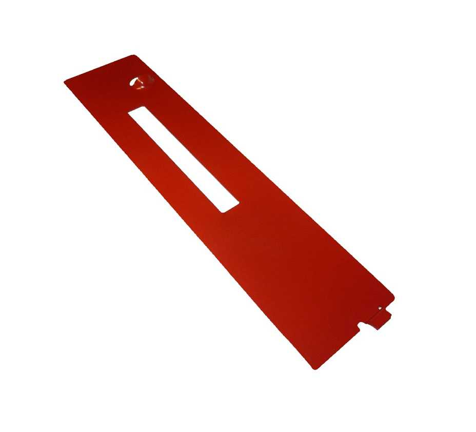 Ryobi OEM 089260001699 RTS31 table saw replacement dado throat plate